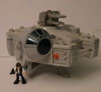 Playskool Star Wars Galactic Heroes Millennium Falcon W/Han Solo