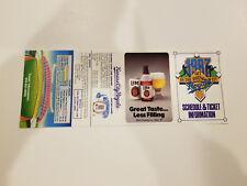 Kansas City Royals 1987 MLB Baseball Pocket Schedule - Miller Lite