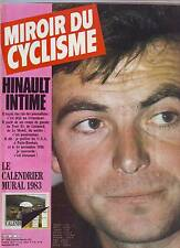 miroir du cyclisme n°329 HINAULT IMTIME LE CALENDRIER MURAL PEUGEOT