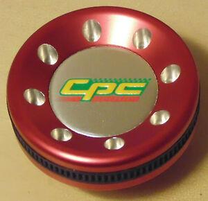 CPC Alloy Oil Cap RED SOC68BL suits Toyota Corolla Levin Sprinter AE86 MR2 Supra