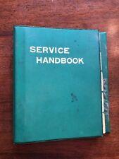 KOMATSU HYDRAULIC EXCAVATOR SERVICE HANDBOOK BOOK MANUAL