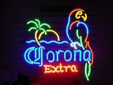 "New Corona Extra Parrot Bird Left Red Neon Sign Beer Bar Pub Gift Light 17""x14"""
