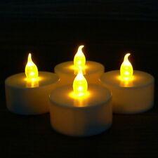 4er Set LED Teelichter flackernd warm inkl. Batterien ohne Timer Teelicht 4Stück