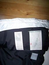 DOLOMITE Daunenjacke, Blousonform, warmweiß, Kapuze mit Stickerei, Gr. M