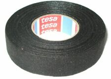 tesa 51608 Adhesive Cloth Fabric Tape - Black