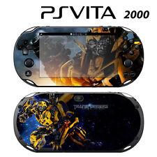 Vinyl Decal Skin Sticker for Sony PS Vita Slim 2000 Transformers Bumblebee 1