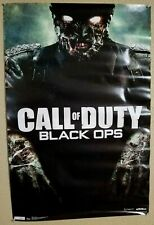"Original CALL OF DUTY BLACK OPS 1 GAME POSTER ""ZOMBIE EDITION""  34h x23w inch"