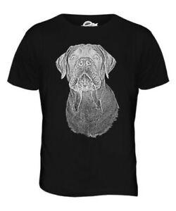 Bullmastiff Sketch Herren T-Shirt Geschenk Hundeliebhaber