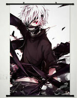 POPULAR Anime Tokyo Ghoul Home Decor Anime Poster Wall Scroll 60*90CM