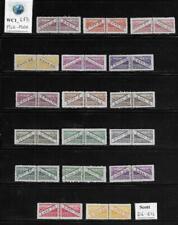 WC1_4871. SAN MARINO. 1945-46 PARCEL POST set. Scott Q16-Q32. MLH-MNH