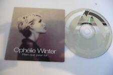 OPHELIE WINTER CD POCHETTE CARTONNEE RIEN QUE POUR LUI.