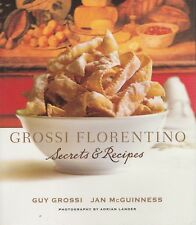 Grossi Florentino  Secrets & Recipes  2010  Mini Cookbook Taste Collection