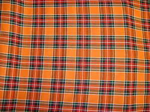 Tartan-Sienna-150cm. woven fabric.You only pay one small COMBINED postal charge.