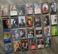 Lot 27 Vintage Cassette Tapes Country Twitty Gill Jones Travis Brooks Times WOW