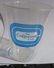 Richfield Cleveland Coliseum Cocktail Glasses 6 Vintage Soft Plastic Solo Club