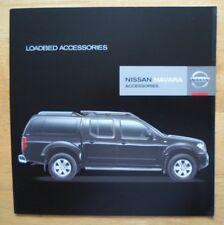 NISSAN Navara 2005 accessoires marché britannique la brochure commerciale