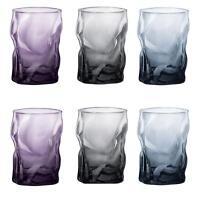 3 x Bormioli Rocco Sorgente Colour Tumbler Drinks Glasses 300ml Pick your Colour