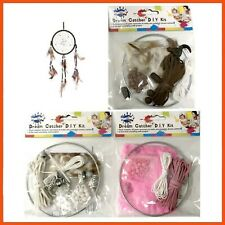 24 X D.i.y Dream Catcher Kit Kids Art & Craft Home Decor Hanging Ornament Toy