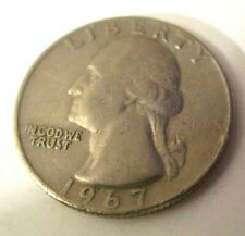 Piece américaine Quarter Dollar 1967 - Aigle