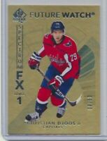 2017-18 SP Authentic Future Watch Spectrum FX GOLD S-64 Christian Djoos /50
