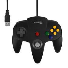 ★★ Manette USB Noire pour PC/Mac - Design N64 Garantie 1an ★★