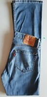 LEVI STRAUSS Men 527 Slim Boot Cut Egypt Cotton Denim Jean - 30x34 Medium Blue