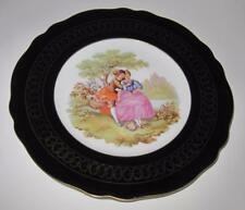 Kuba Porzellan Bavaria Germany Fragonard Courting Couple Decorative Plate 10 7/8