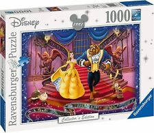 NEW! Ravensburger Beauty and the Beast 1000 piece disney collectors jigsaw