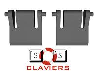 DBPower K928 Keyboard Spare Replacement Tilt Leg Stand Foot Feet Set