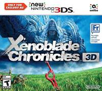 Xenoblade Chronicles 3D [NEW Nintendo 3DS Action RPG Battle Robots Monado Sword]