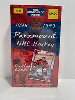1998 / 1999 Paramount NHL Hockey Hobby Box - New Factory Sealed **RARE**