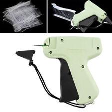 Clothes Garment Price Label Brand Tagging Trademark Tag Gun+1000 Barbs+5 Needles
