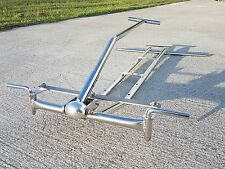 Stainless Steel Chassis for Radio Flyer Wagon (Chassis, Pull Rod, Quick Release)
