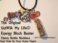 The Original Unf# My Life© Energy Block Buster Bottle Necklace Religious Supply