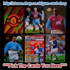 Cromos de fútbol de coleccionismo originales Premier League temporada 1999