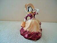 """Vintage Ceramic Woman Shaped Planter """" BEAUTIFUL COLLECTIBLE ITEM """""""