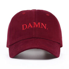 Kendrick Lamar Damn Cap Embroidery Rapper Tour DAMN Hat Dad Cap For Men Women