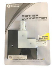 Lithonia Lighting LTLDC MW M6 90° Connector TRACK LIGHTING KIT White/ Black NEWc