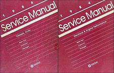 1984 Caravan Voyager Shop Manual Set Dodge Plymouth Van Repair Service Grand