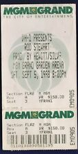 Rod Stewart MGM Grand Ticket Stub Sept 5 1998 Free Shipping