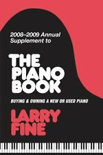 2008-2009 Annual Supplement to The Piano Book: Buy