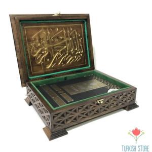 Wooden Carving Quran Box &Quran