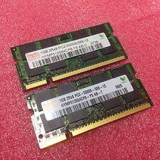 Hynix 2GB 2x1GB DDR2-667 MHz SODIMM RAM PC2-5300S Notebook