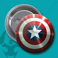 Ø28MM PIN CHAPA BADGE civil war / capitan america / marvel / escudo / vengadores