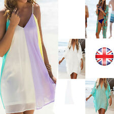 Womens Holiday Casual Mini Playsuit Ladies Jumpsuit Summer Cover UP Beach Dress