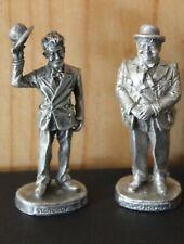 Gallo Rare Pewter Stan Laurel & Oliver Hardy Figures Movie Stars