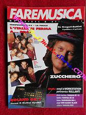 Rivista FARE MUSICA 137/1992 Zucchero Assalti Frontali Nirvana De Gregori No cd