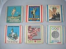HTF 1972 Munich Germany Olympic Games Drink Coasters Beermats Lot Previous Games