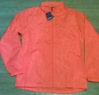 ladies peach pink windbreaker showerproof jacket coat size XXL, 14  JOMA NEW