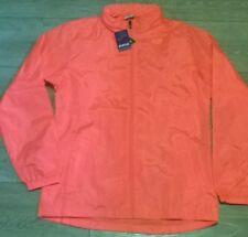 ladies peach pink windbreaker showerproof jacket, size Large 12-14,  JOMA, NEW